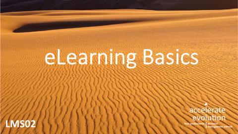 eLearning Basics (LMS02)