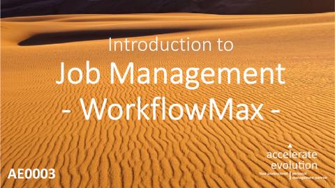 Job Management (AE0003)