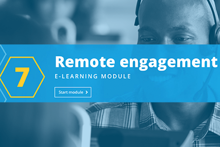 07: Remote engagement
