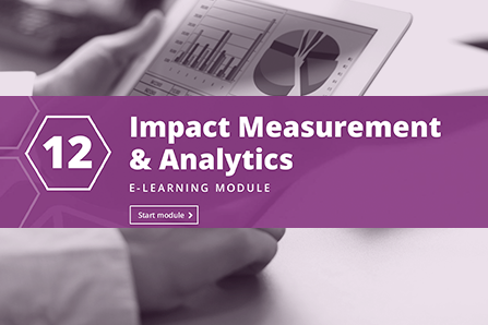 12: Analytics and Impact Measurement