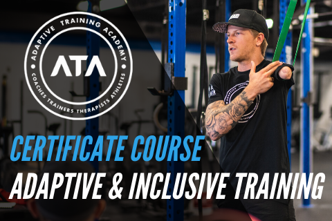 ADAPTIVE and INCLUSIVE TRAINING CERTIFICATE COURSE