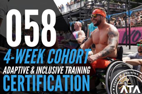 4-WEEK COHORT (058): Adaptive & Inclusive Trainer Certification