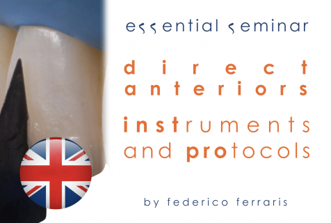 Direct anteriors. Why and how: instruments and protocols. (ES/Eng 003)