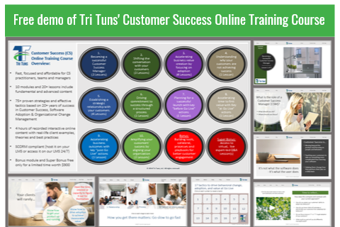 Free Demo - Customer Success Training (STE 001 Free DEMO)