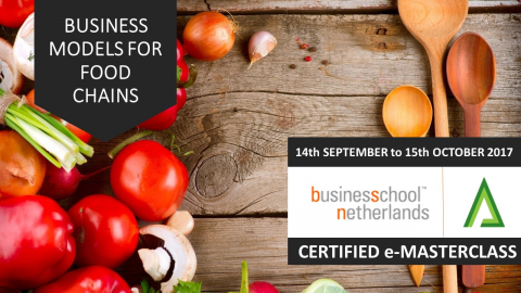 Certified e-Masterclass: Business Models for Food Chains (MOD1)