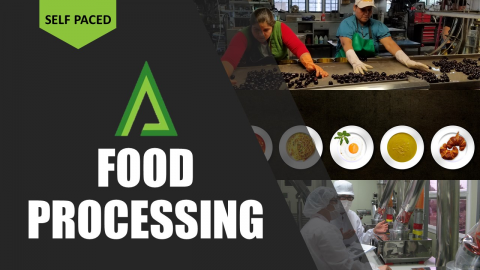 Food Processing [Self-paced Certified Masterclass] (SPM003)