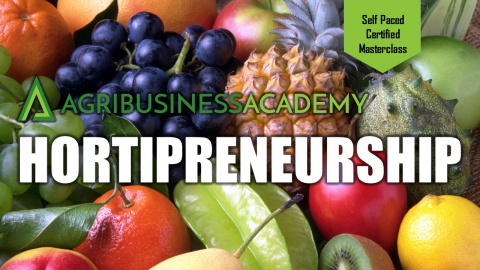 Hortipreneurship [Self-paced Certified Masterclass] (SPM001)