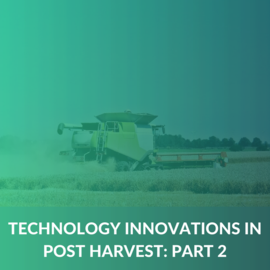 Post-Harvest Technology Innovations - Part2 (MD008)