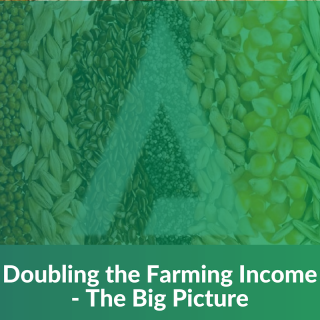 Doubling Farmers' Income -The Big Picture