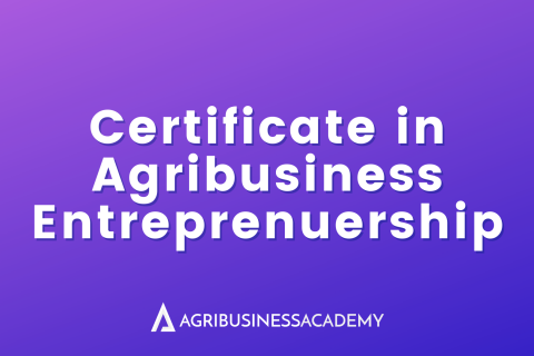 Certificate in Agribusiness Entrepreneurship (AE)