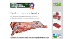 Beef - Theory - Level 2 Recognising beef foodservice and retail cuts and the best cooking methods
