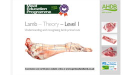 Lamb - Theory - Level 1 Understanding and recognising lamb primal cuts