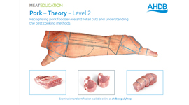 Pork - Theory - Level 2 Recognising pork cuts and the best cooking methods