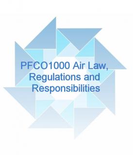 (STEP A.1) PFCO1000 Air Law, Regulations and Responsibilities (BPFCO1000)