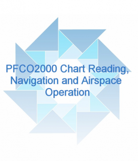 PFCO2000 Chart Reading,Navigation and Airspace Operation (CPFCO2000)