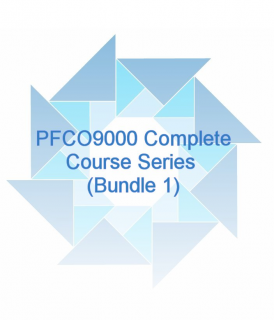 (STEP A B & C) PFCO 9000 The Complete Course Series (IPFCO9000)