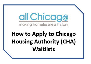 05.01.2019 (Recorded Webinar) How to Apply to CHA Waitlists - PH & PBV Vouchers