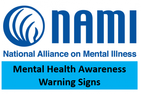 03.20.20- NAMI-Mental Health Awareness: Warning Signs