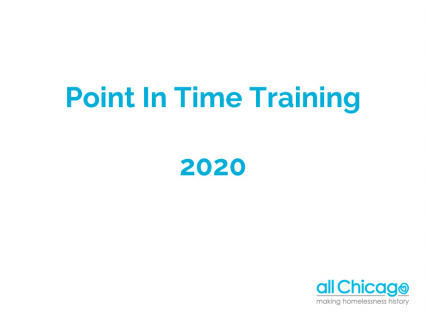 2020 Point In Time Training