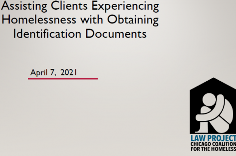 04.09.21 - Assisting Clients Experiencing Homelessness with Obtaining Identification Recorded