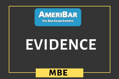 Evidence (06600)