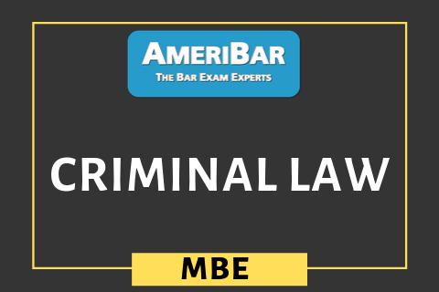 Criminal Law (06400)