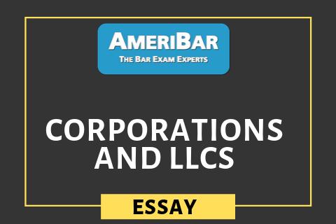 Corporations and LLCs (03110)