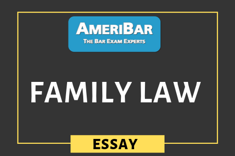 Family Law (03160)