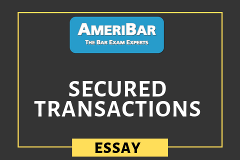 Secured Transactions - UCC Art. 9 (03250)