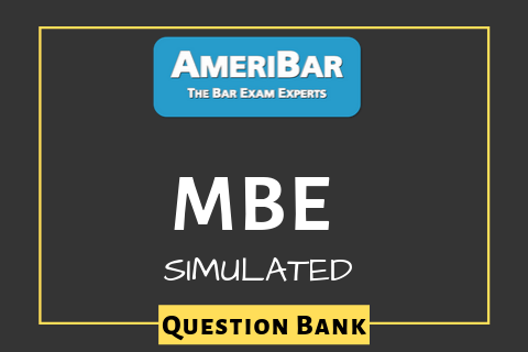 MBE - Simulated Question Bank- (00041)