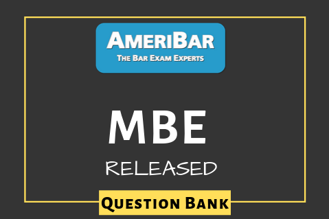 MBE - Released Question Bank (00040)