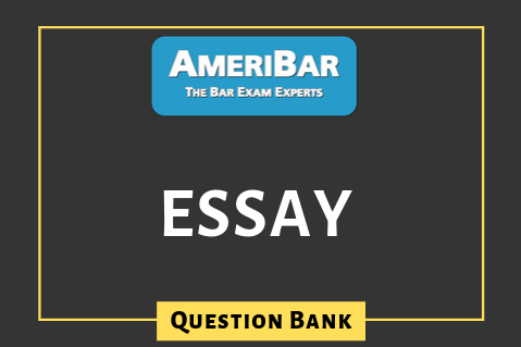 Essay - Question Bank (OH) (00052)