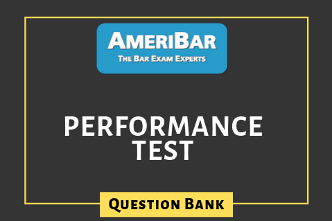 Performance Test - Question Bank (PA) (00061)
