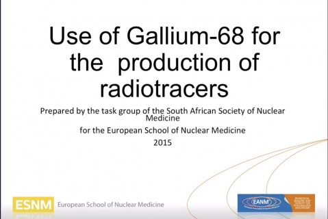 Use of Gallium-68 for production of radiotracers