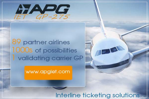 APG Interline E-ticketing (IET)