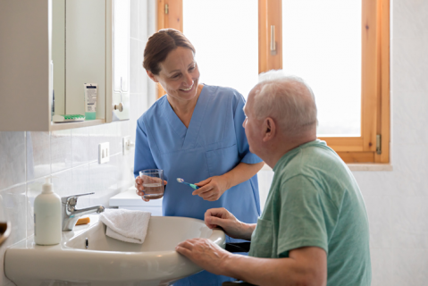 Improving Oral Health for Clients with Dementia