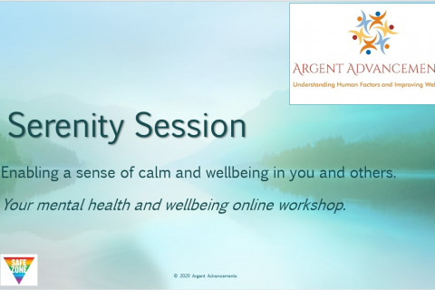 Mental Health & Wellbeing - Serenity Session (A7)