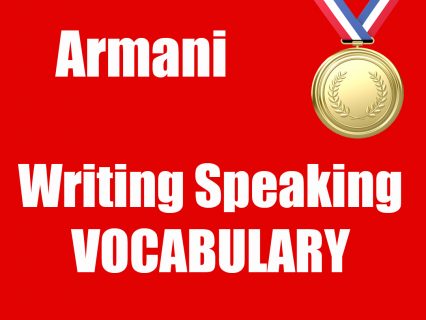 Writing/Speaking VOCABULARY (IE02)