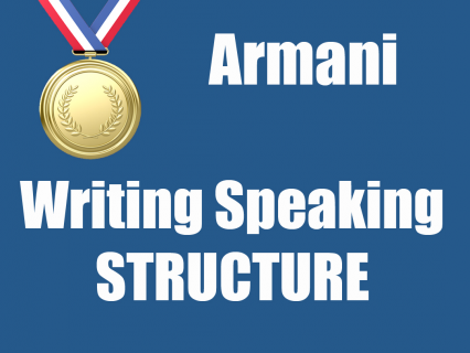 Writing/Speaking STRUCTURE (IE03)