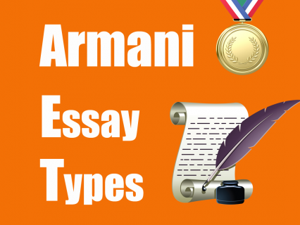 Armani Essay Types (IE05)