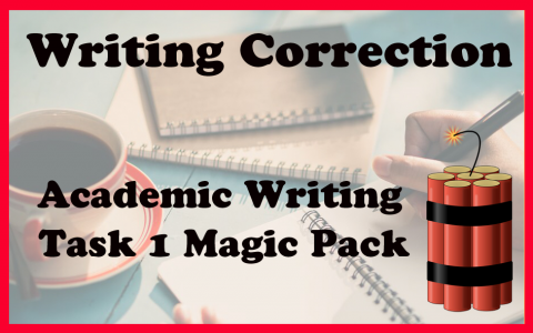 AC task 1 writing correction MAGIC PACKAGE
