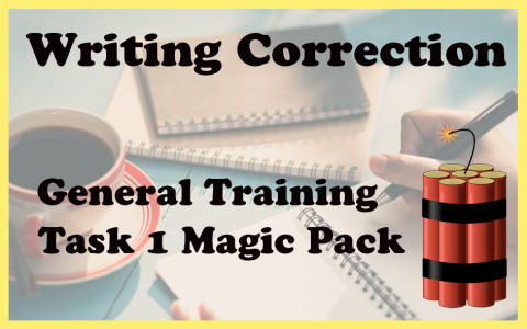GT task 1 writing correction MAGIC PACKAGE