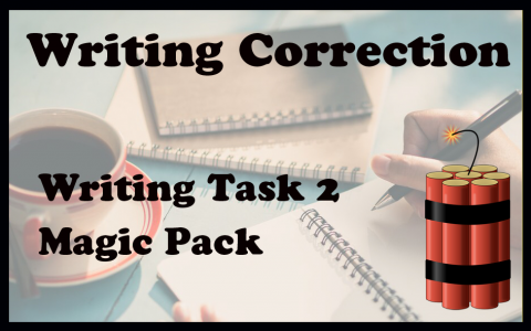 Task 2 writing correction MAGIC PACKAGE