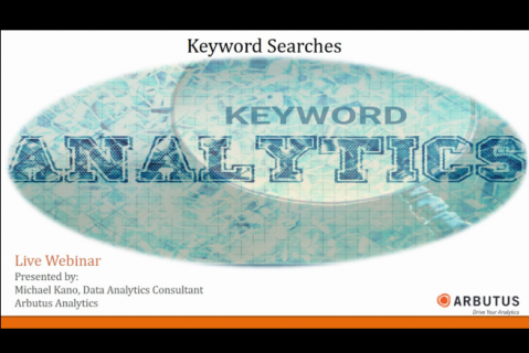 Keyword Searches: Keyword Analytics