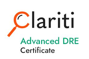 Clariti Advanced DRE Certificate Course (CLDREADV)