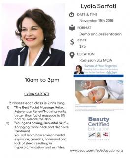 3.(2019) LYDIA SARFATI   (PP Skin Care)