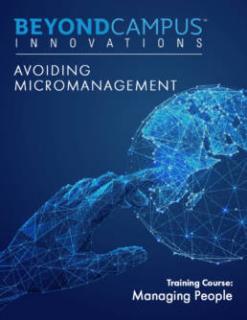 Avoiding Micromanagement (BCI506)