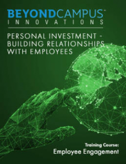 Personal Investment – Building Relationships with Employees (BCI607)