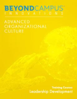 Advanced Organizational Culture (BCI307)
