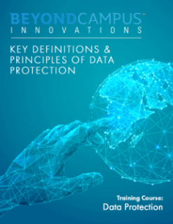 Key Definitions and Principles of Data Protection (BCI092)